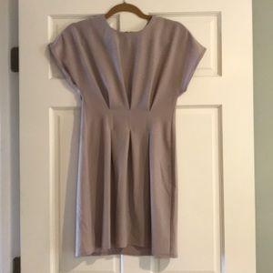 ASOS Petite greige / gray party dress